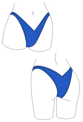 Tanya Competition Swimsuit Bottoms