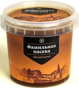 Мёд Медоведов Фамильная пасека гречишный
