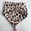 Thumbnail: Baby Halstuch aus weichem Mullstoff mit Bommel