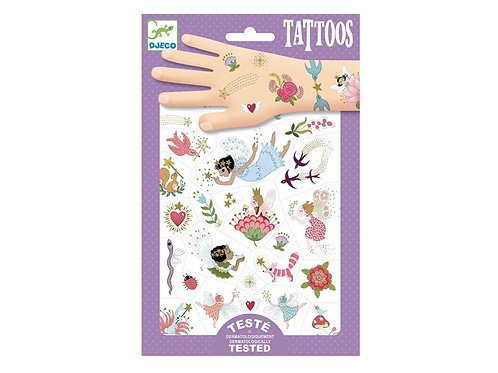 "djeco Tattoos ""Fairy Friends"" Feen"