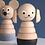 Thumbnail: Sarah & Bendrix Holzsteckturm Hund