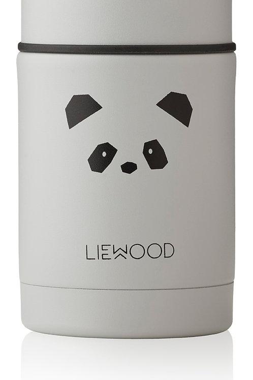 """Liewood  Nadja Thermobehälter """"Panda light grey"""""""