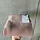 Thumbnail: Bio Babstrickdecke mit Lochmuster 100% Merinowolle puder