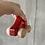 Thumbnail: Ostheimer Bio Holzauto rot