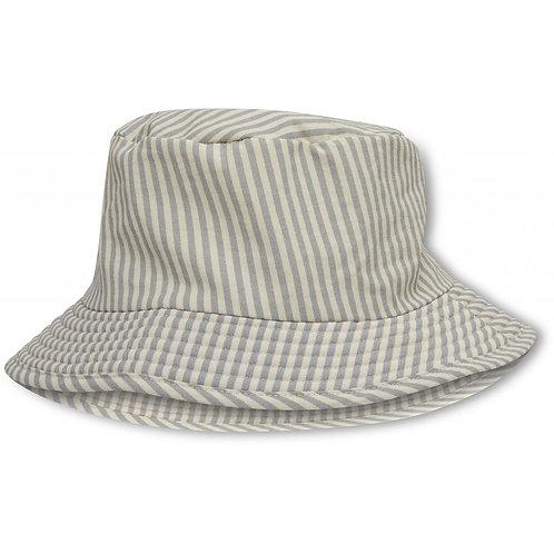 """KONGES SLØJD Fischerhut Sonnenhut""""Aster Bucket Hat"""" light blue stripe"""