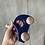 Thumbnail: Ostheimer Bio Holzauto mit Männlein blau