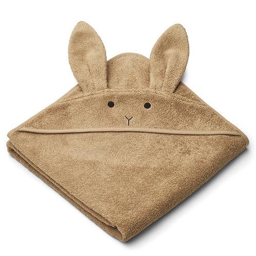 """Liewood Kapuzenhandtuch """"Albert Rabbit oat"""""""