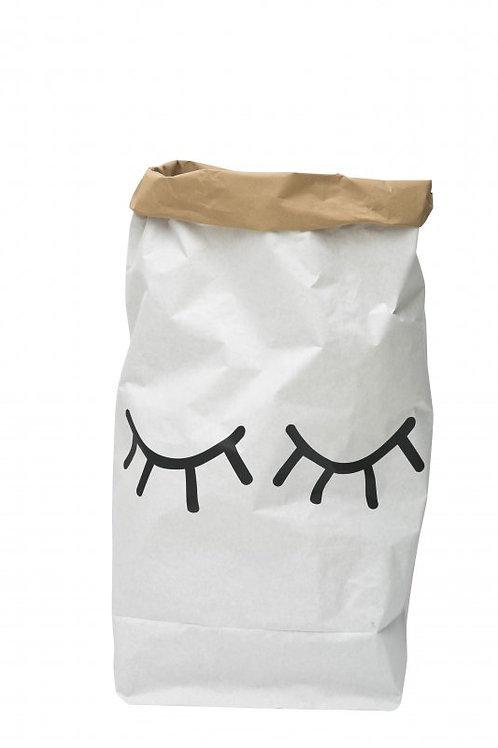 Tellkiddo Closed Eye Papiersack Paperbag