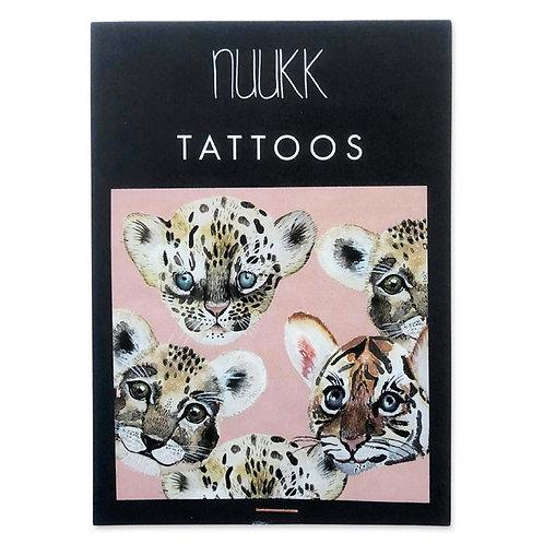 """Bio nuukk Kinder Tattoos """"Tiny Roar"""" vegan"""