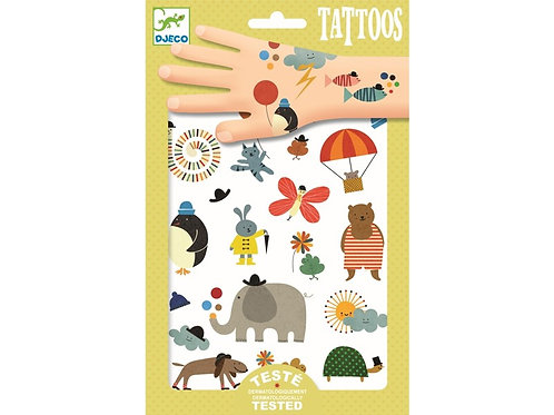 """djeco Tattoos """"Pretty Little things"""" Tiere"""