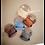Thumbnail: Mushie Silikon Lätzchen grau Safari