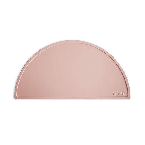 Mushie Silikon Tischset blush