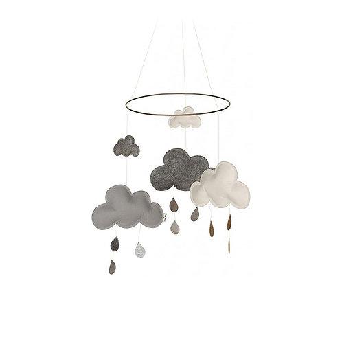 "Konges Sløjd Baby Wolken Mobile """"Cloud Blackberry"""""