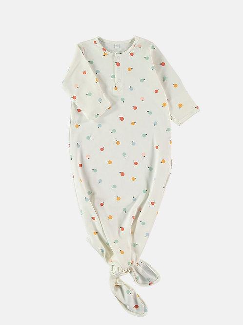 Petih Oh Baby Erstlingsschlafsack Unterschlafsack Pima-Baumwolle mit Knoten