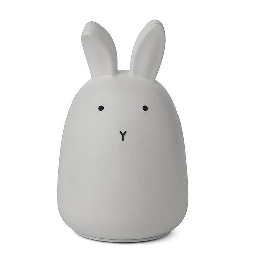 "Liewood Nachtlicht ""Winston Rabbit Dumbo Grey"""