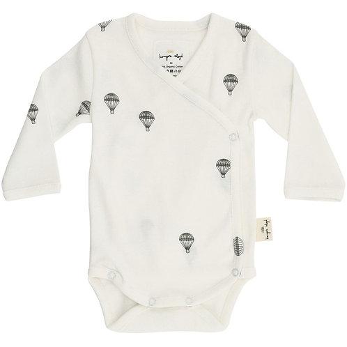 Konges Sløjd Newborn Baby-Body Wickelbody Parachute Heißluftballons