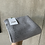 Thumbnail: Bio Babstrickdecke mit Lochmuster 100% Merinowolle grau