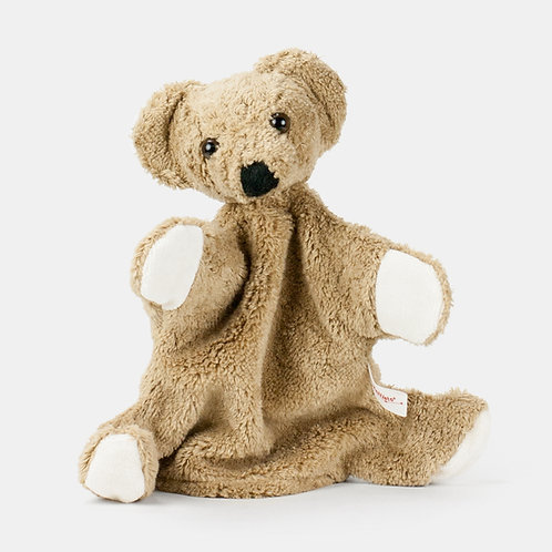 Kallisto Handpuppe Bär beige