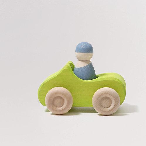 grimms kleines Cabrio Holzauto grün
