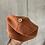 Thumbnail: Bio Strick Babymütze Biobaumwolle rost braun