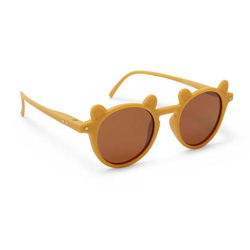 "Konges Sløjd Sonnenbrille ""Baby Mustard / Gold"""