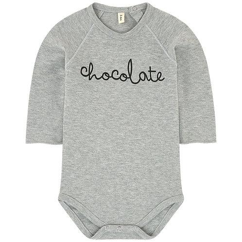 "Organic Zoo Body ""Chocolate"" grau melange"