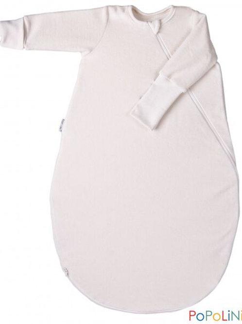 Popolini Baby Schlafsack aus  organic Baumwollvlies GOTS