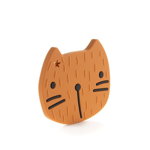 Beißfigur Pippa die Katze caramel