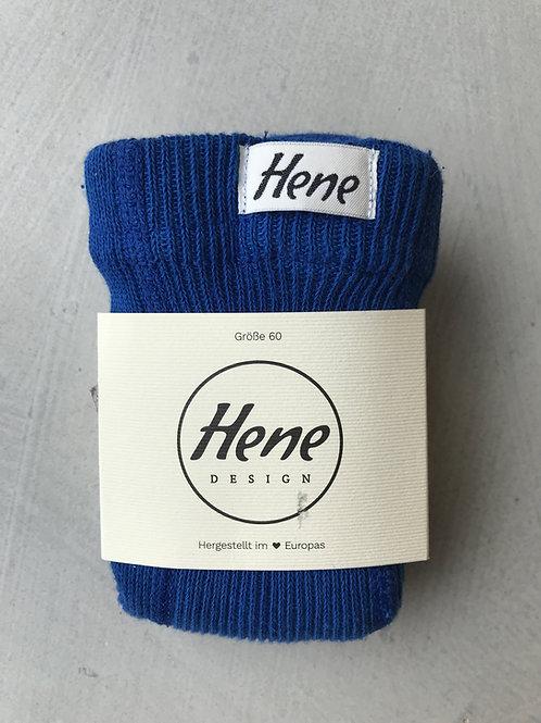 Hene Design Strumpfhose mit Trägern Trägerstrumphose blau