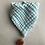 Thumbnail: Kinder Halstuch * aus 6lagigem Mullstoff mit Bommel