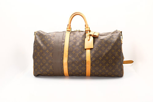 Louis Vuitton Vintage Keepall 55 (repaired)