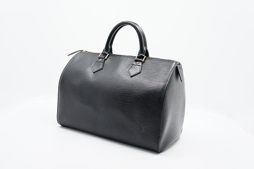 Louis Vuitton Vintage Epi Noir Speedy 30