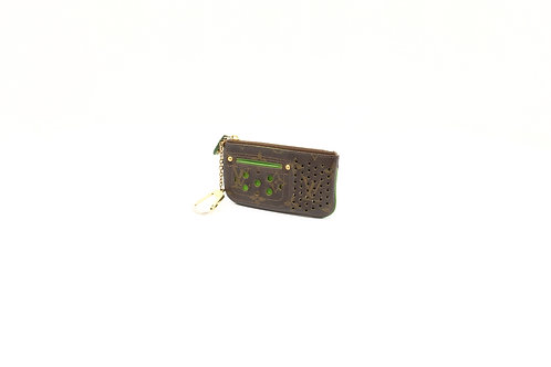 buy preloved Louis Vuitton Green Perforated Cles