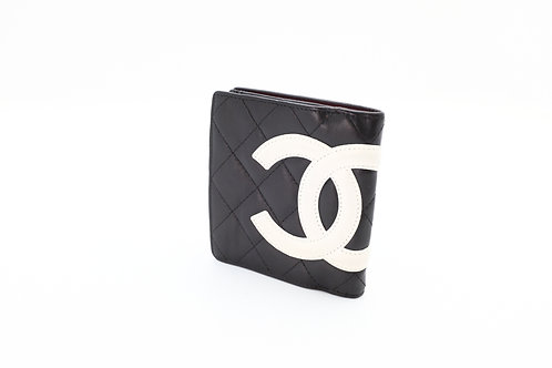 Buy preloved authentic Chanel Button Snap Bifold Wallet