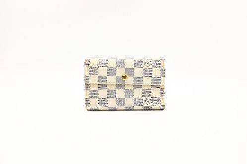 Louis Vuitton Damier Azure Snap Wallet