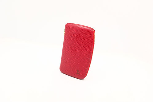 Louis Vuitton Epi Red Geode Zippy Wallet
