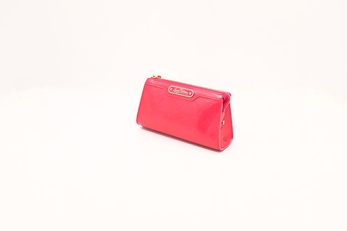 Louis Vuitton Pink Vernis Cosmetic Pouch