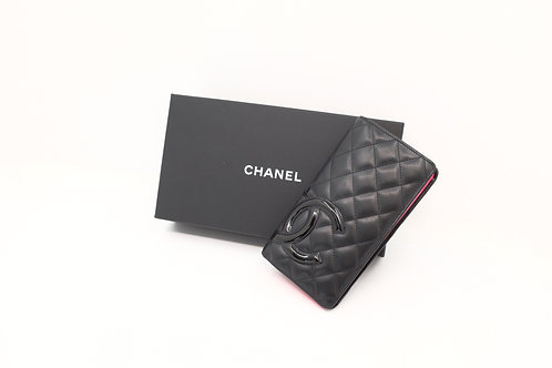 Buy preloved authentic Chanel Quilted Long Wallet