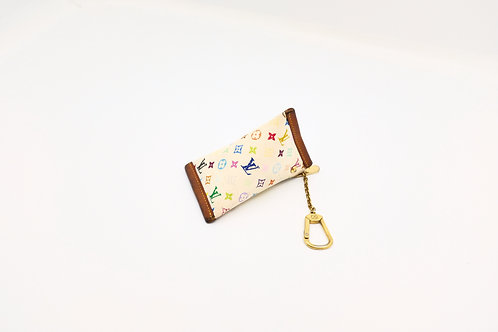 Louis Vuitton Multicolor White Berlingot Coin Case