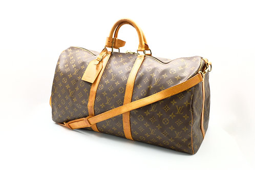 Louis Vuitton Vintage Keepall 55 Bandouliere
