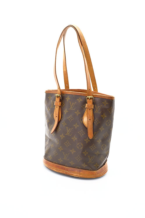 buy preowned  authentic Louis Vuitton Vintage Bucket Bag PM