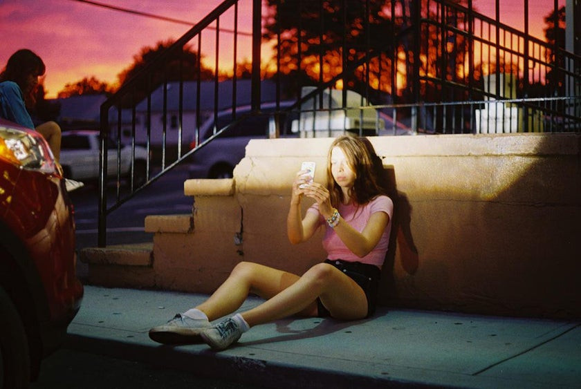Petra Collins 90s film aesthetic
