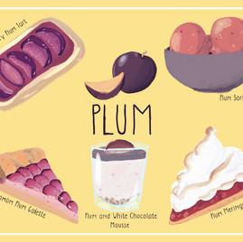 Plum Poster