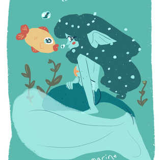 Aquamarine Mermay