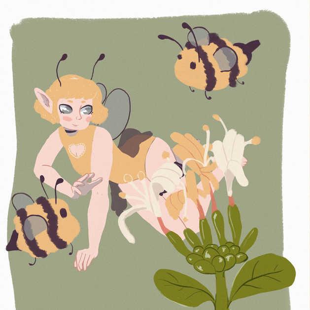 Honeysuckle Fae