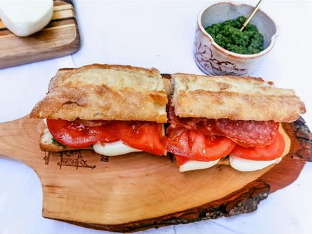 Pesto Italian Sandwich