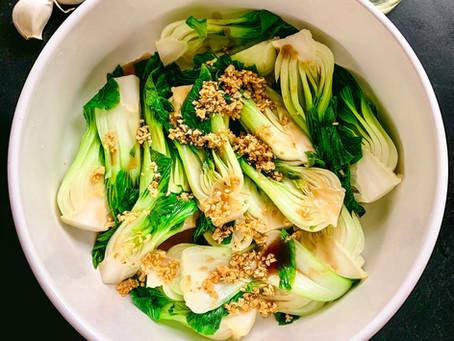 Garlic Bok Choy (白菜)
