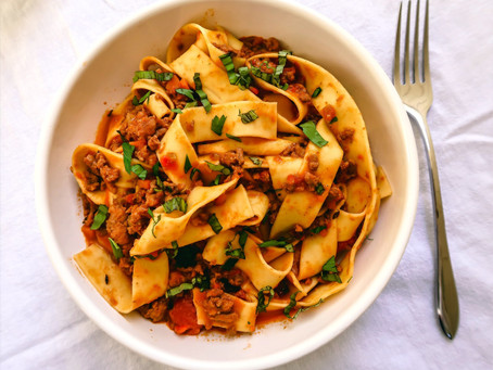 Hearty Bolognese Pasta 🍝 Sauce