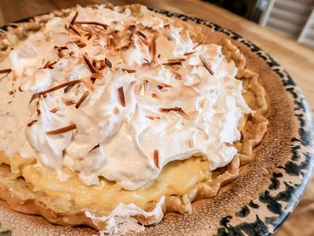 Coconut 🥥  Cream Pie