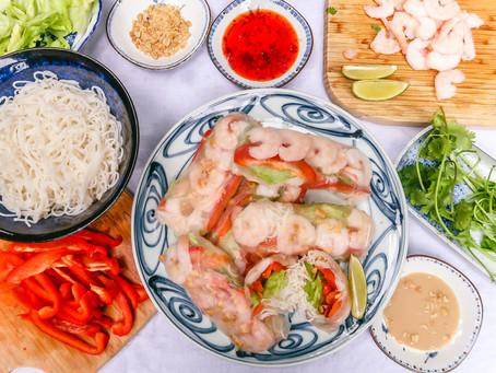 Vietnamese Spring Rolls (Gỏi cuốn)